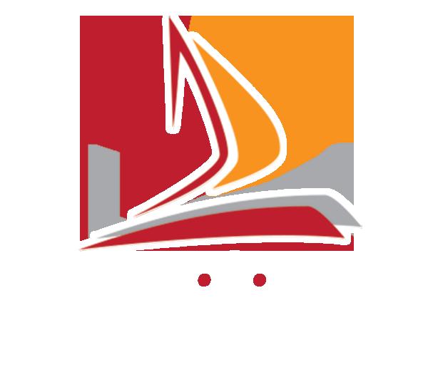 De Villiers Marine Design Logo
